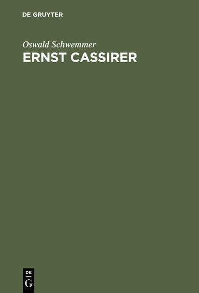 Ernst Cassirer als Buch