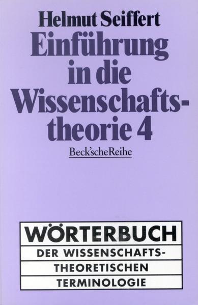 Einführung in die Wissenschaftstheorie 4 als Buch