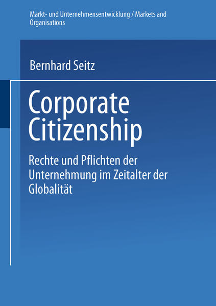 Corporate Citizenship als Buch