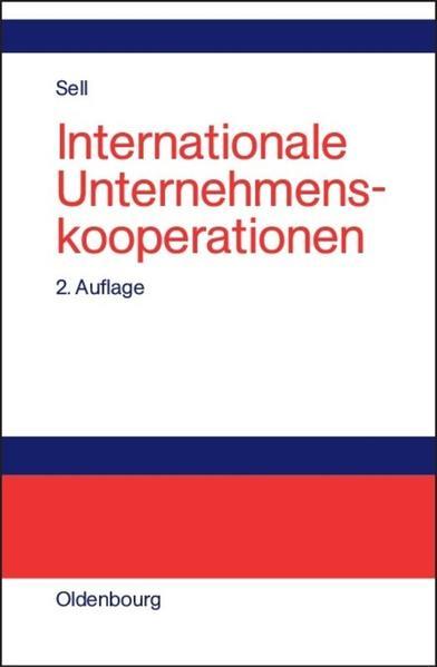 Internationale Unternehmungskooperationen als Buch