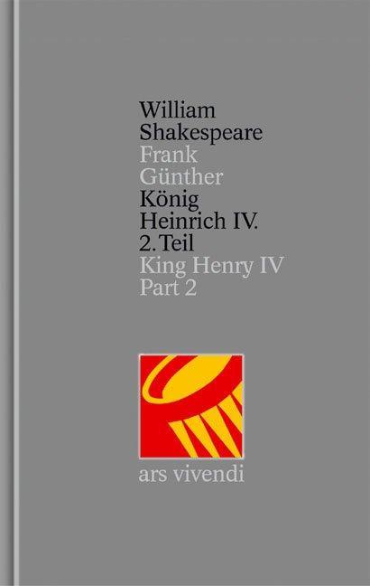 König Heinrich IV. 2. Teil als Buch