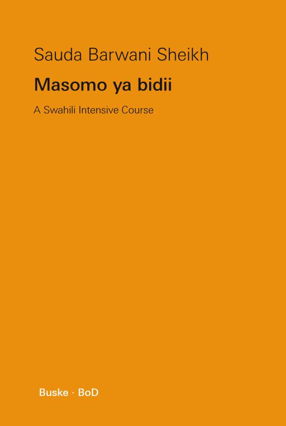 Masomo ya bidii als Buch