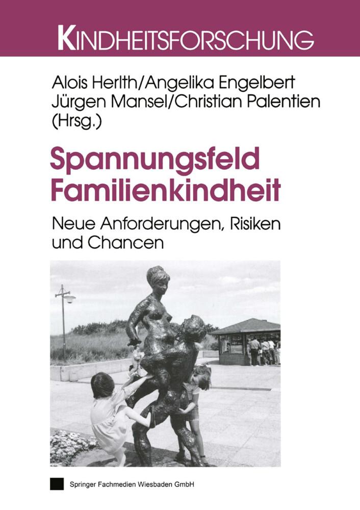 Spannungsfeld Familienkindheit als Buch
