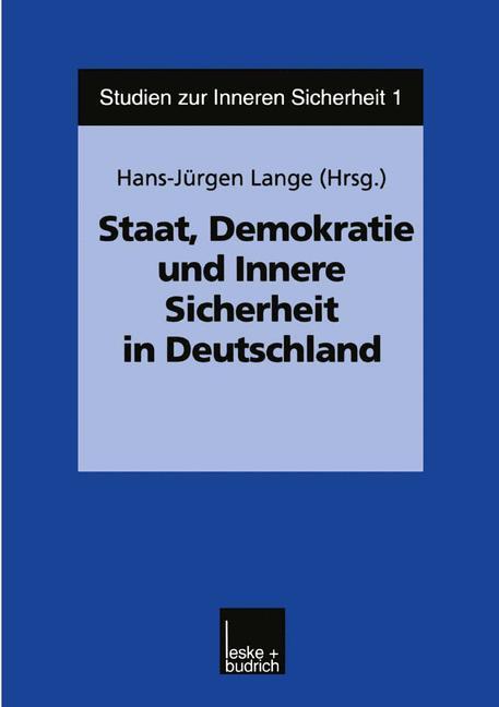 Staat, Demokratie und Innere Sicherheit in Deutschland als Buch
