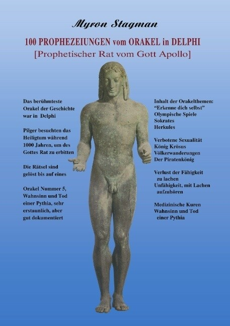 100 Prophezeiungen vom Orakel in Delphi als Buch