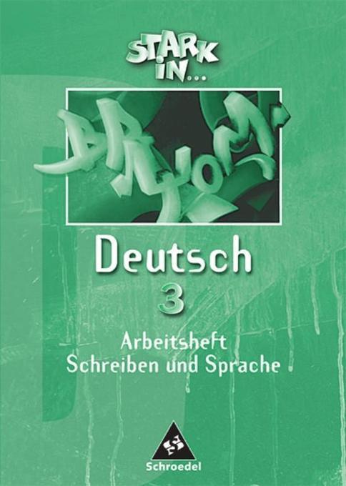 Stark in Deutsch 3. Arbeitsheft als Buch