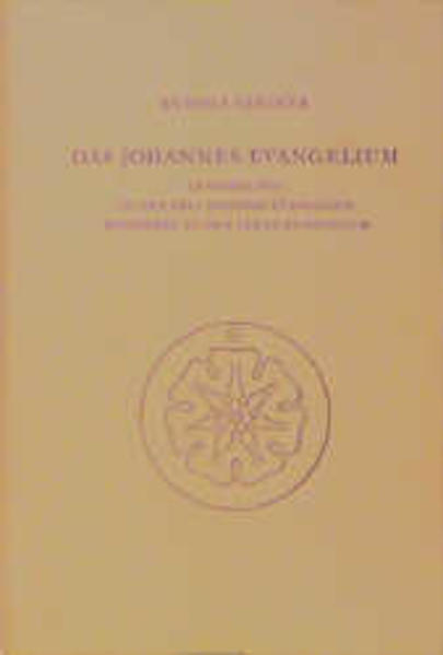 Das Johannes-Evangelium im Verhältnis zu den drei anderen Evangelien besonders zu dem Lukas-Evangelium als Buch