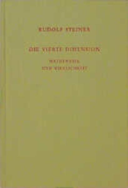 Die vierte Dimension als Buch