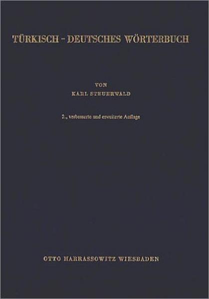 Türkisch - Deutsches Wörterbuch als Buch
