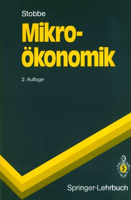 Mikroökonomik als Buch