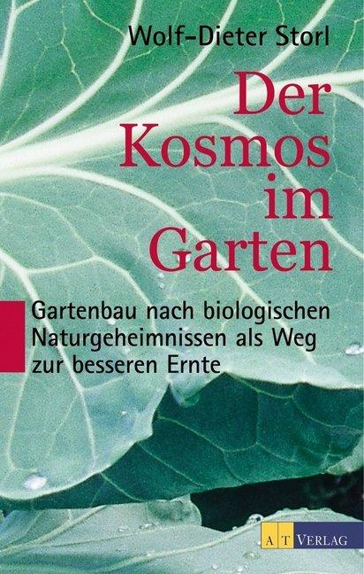 Der Kosmos im Garten als Buch
