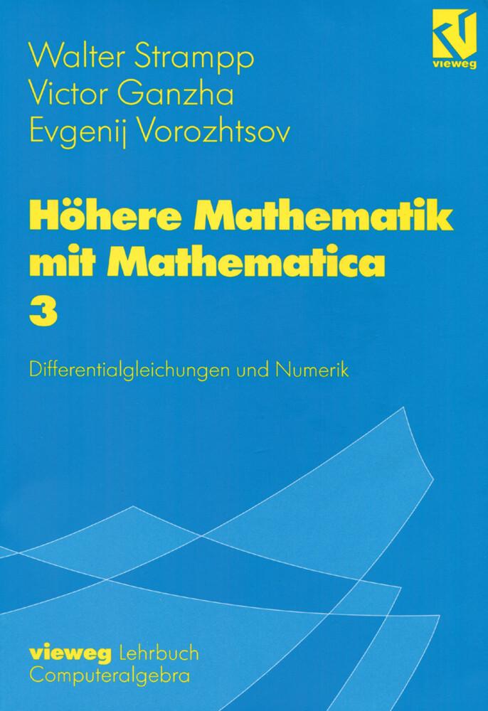 Höhere Mathematik mit Mathematica 3 als Buch