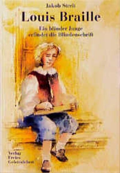 Louis Braille als Buch