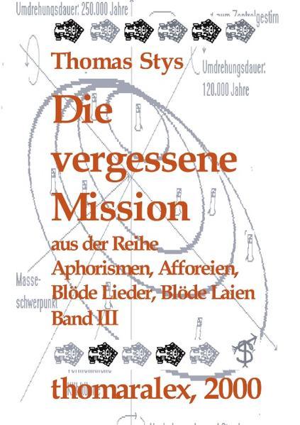 Die vergessene Mission als Buch
