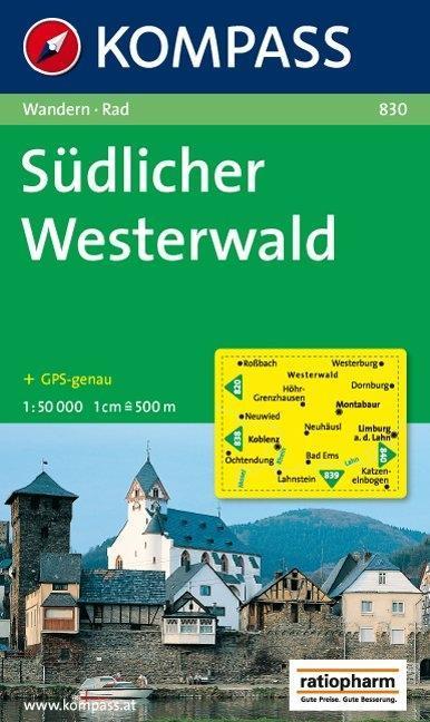 Südlicher Westerwald 1 : 50 000 als Buch
