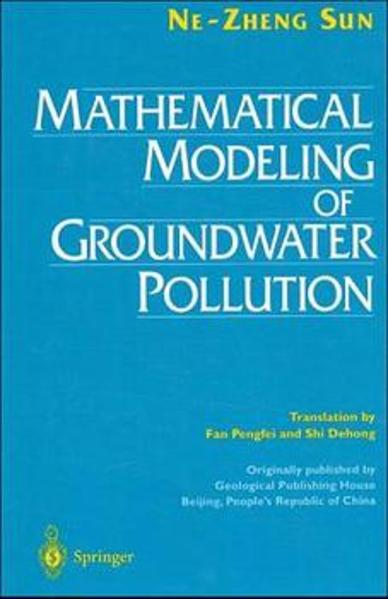 Mathematical Modeling of Groundwater Pollution als Buch