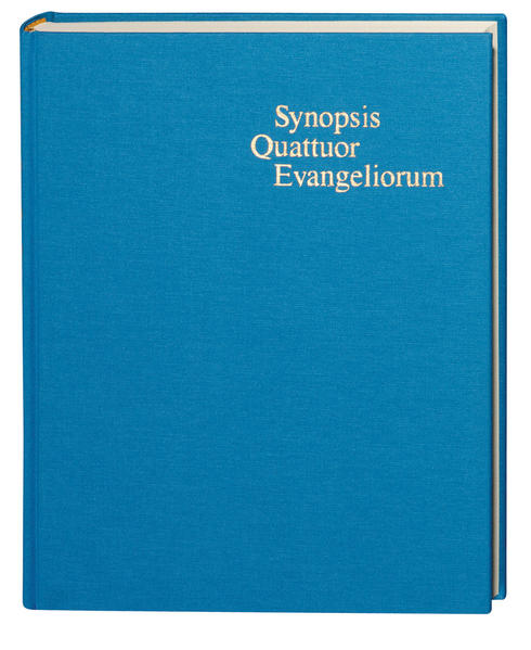 Synopsis Quattuor Evangeliorum als Buch