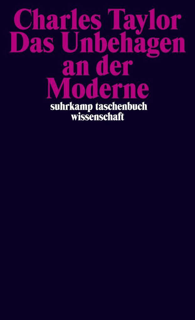 Das Unbehagen an der Moderne als Buch
