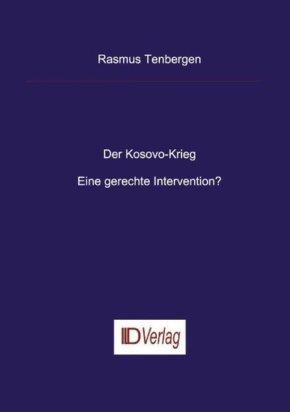 Der Kosovo-Krieg als Buch