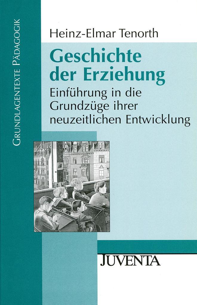 Geschichte der Erziehung als Buch