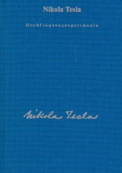 Hochfrequenzexperimente als Buch