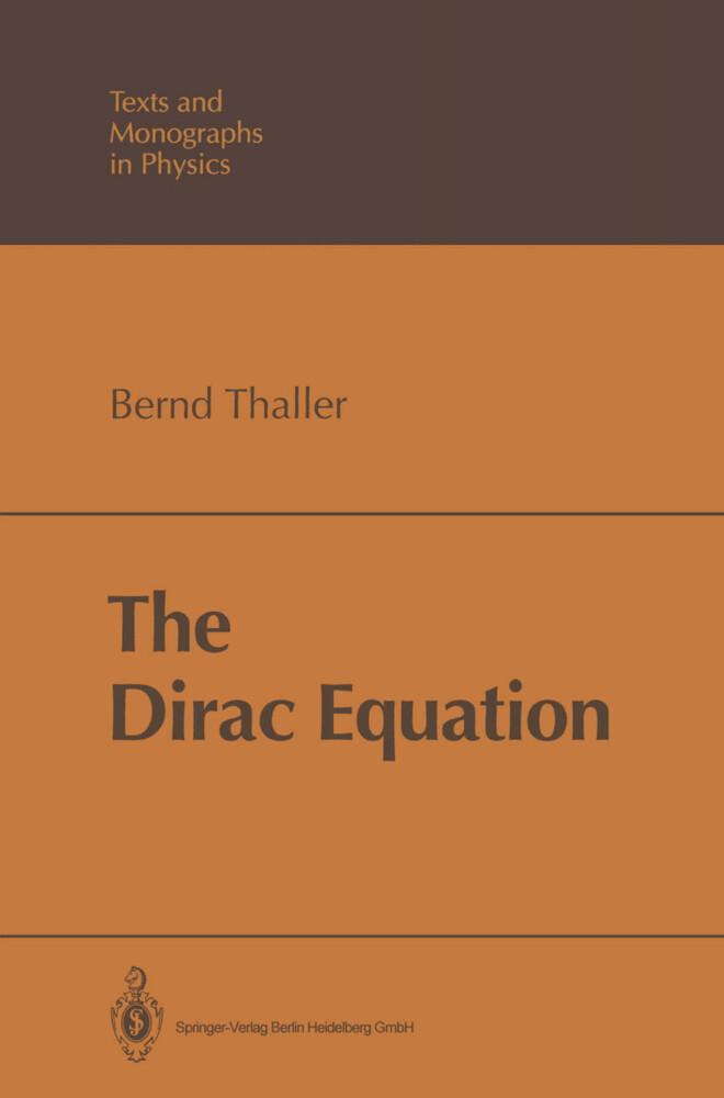 The Dirac Equation als Buch