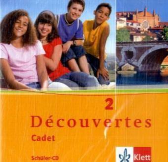 Découvertes Cadet 2. Schüler-Audio-CD als Hörbuch
