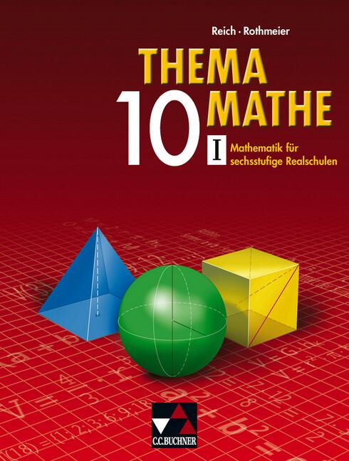 Thema Mathe 10/1. Neu. Mathematik für Realschulen als Buch