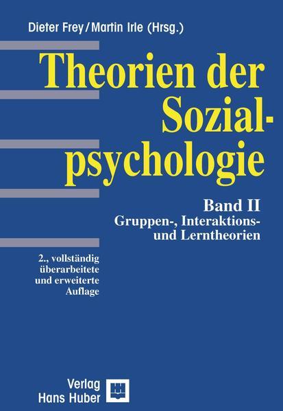 Theorien der Sozialpsychologie 2 als Buch