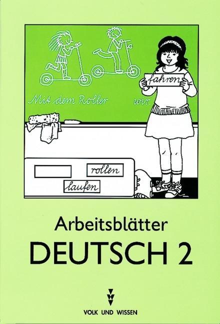 Arbeitsblätter Deutsch 2 als Buch