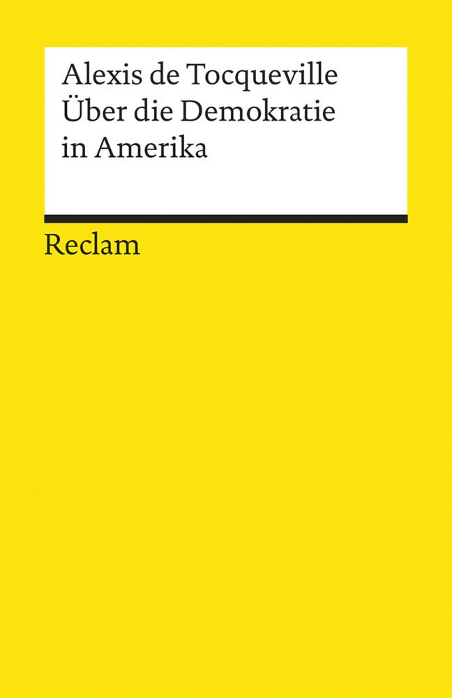 Über die Demokratie in Amerika als Taschenbuch