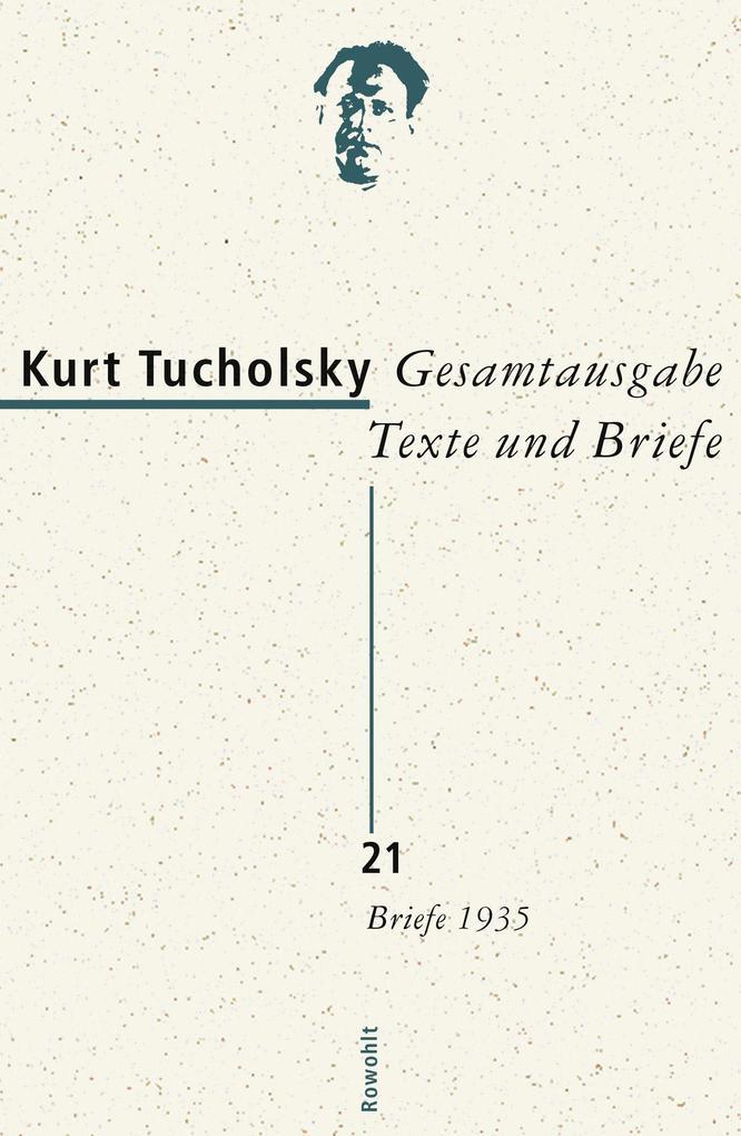 Gesamtausgabe 21. Briefe 1935 als Buch