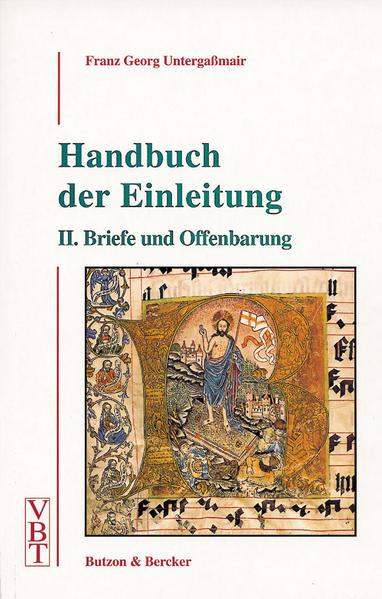 Handbuch der Einleitung 2. Briefe und Offenbarung als Buch