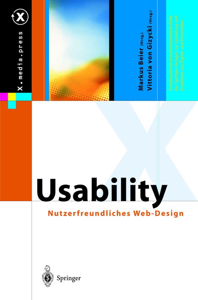 Usability. Nutzerfreundliches Webdesign als Buch