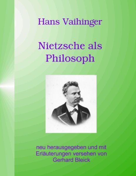 Nietzsche als Philosoph als Buch