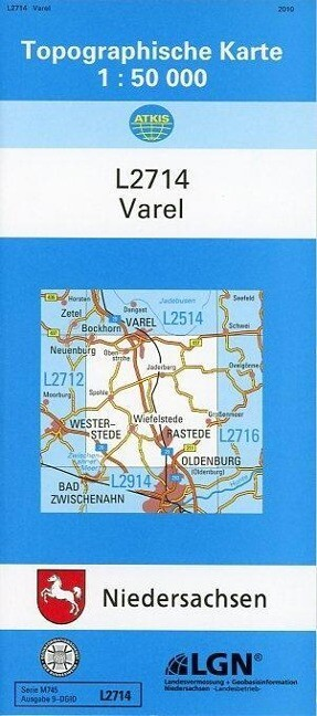 Varel 1 : 50 000 als Buch