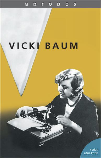Vicki Baum als Buch