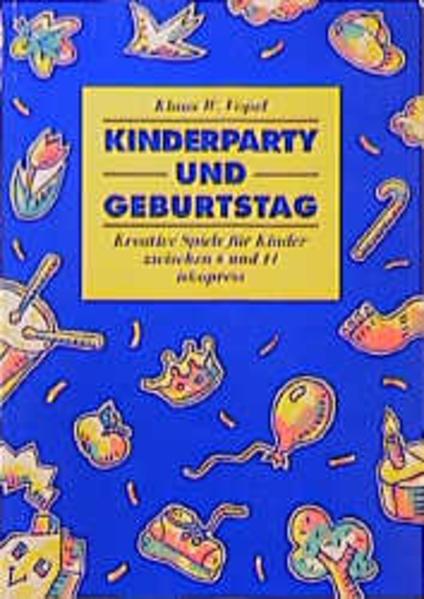 Kinderparty und Geburtstag als Buch
