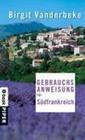 Gebrauchsanweisung für Südfrankreich