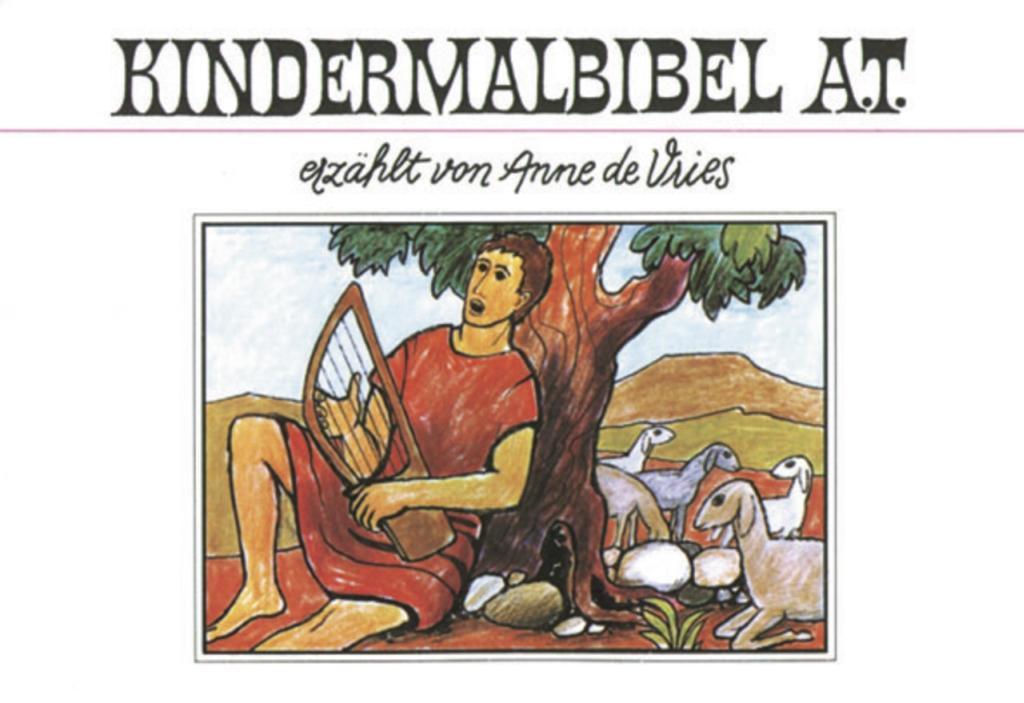 Kindermalbibel A.T. als Buch