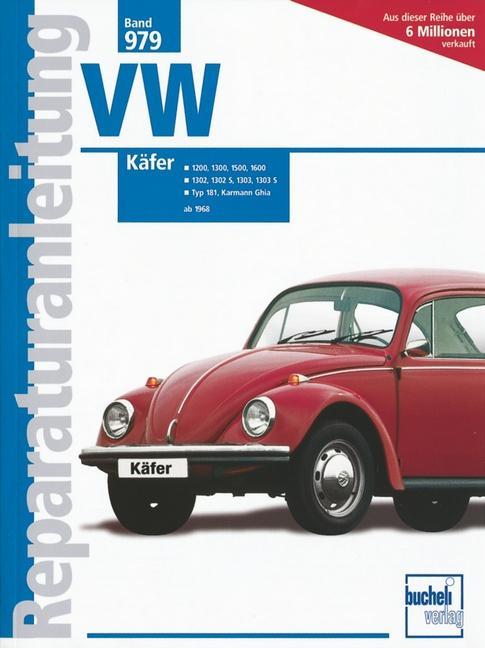 VW Käfer ab 1968 als Buch