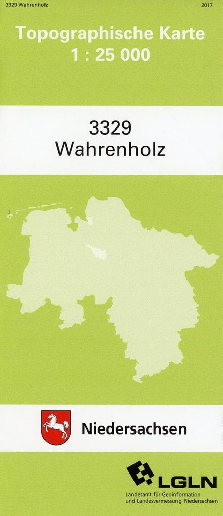 Wahrenholz 1 : 25 000. (TK 3329/N) als Buch