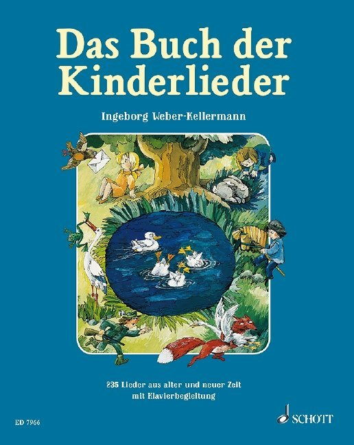 Das Buch der Kinderlieder als Buch