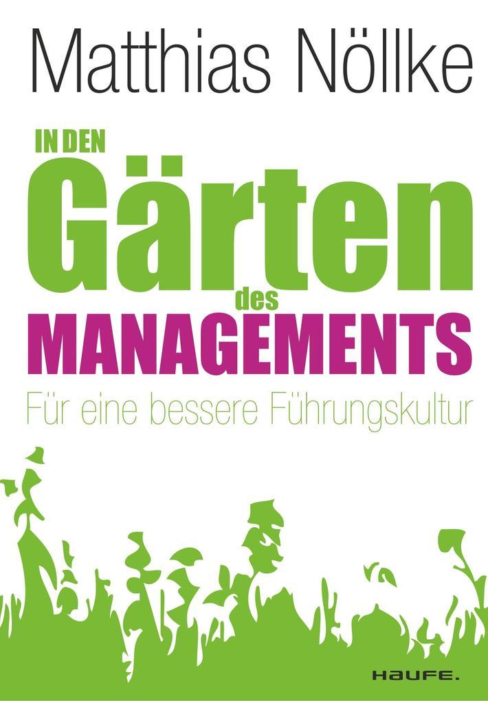 In den Gärten des Managements als Buch