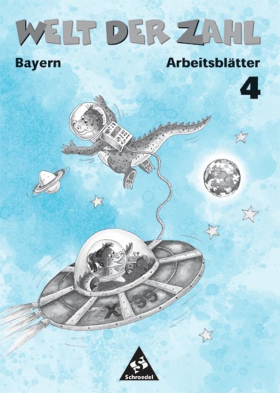 Welt der Zahl 4. Arbeitsheft. Bayern. Euro-Ausgabe als Buch