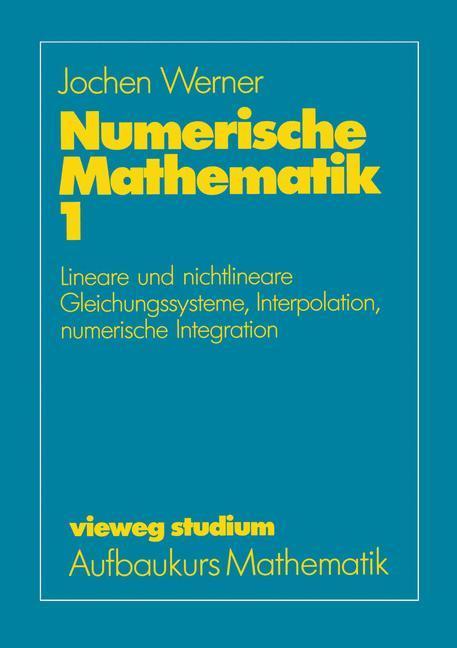 Numerische Mathematik als Buch