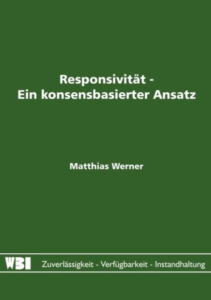 Responsivität - Ein konsensbasierter Ansatz als Buch