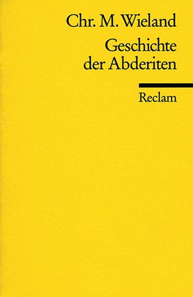 Geschichte der Abderiten als Taschenbuch