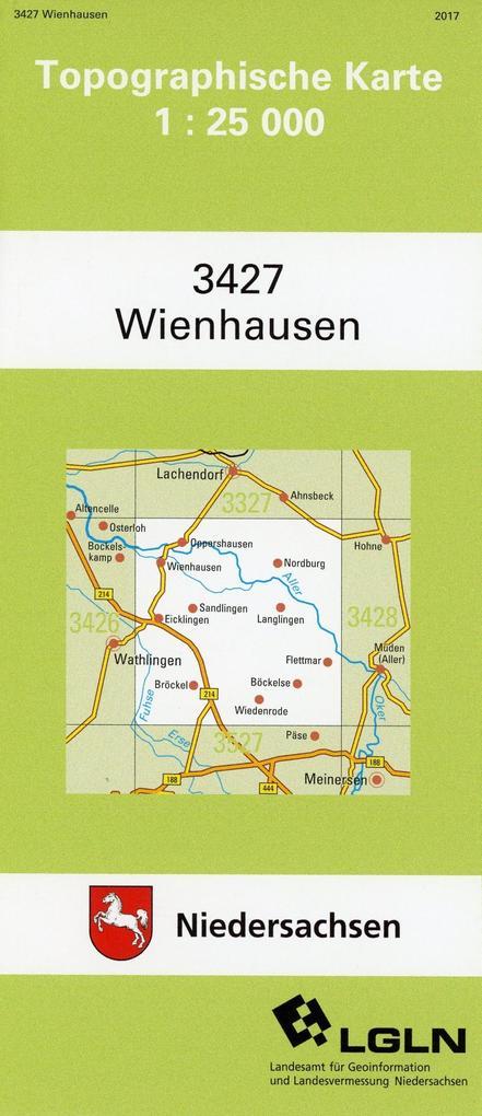 Wienhausen 1 : 25 000. (TK 3427/N) als Buch
