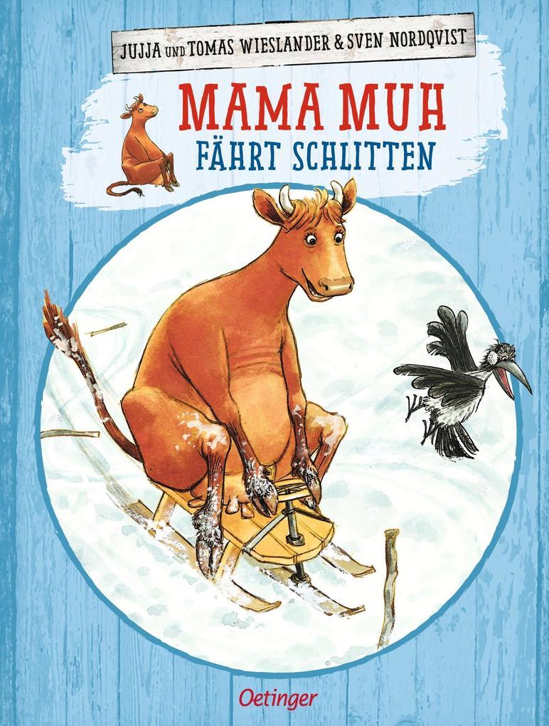 Mama Muh fährt Schlitten als Buch